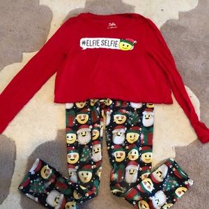 Justice Xmas outfit